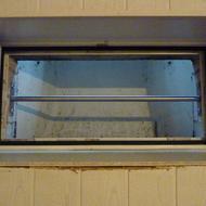 Kellerfenstersicherung Spaltmass unter 200mm.